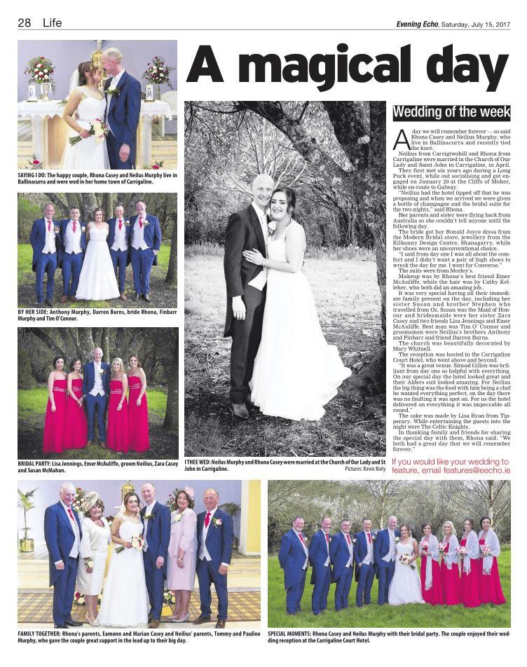 a magical wedding day