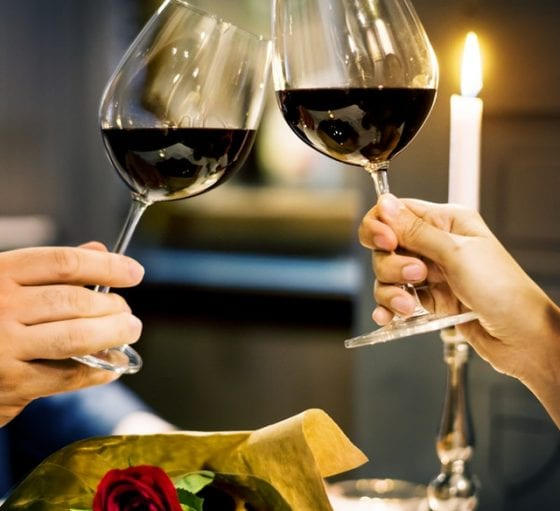 Carrigaline Court Valentine's Day Menu 2019