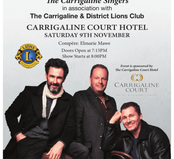 Celtic Tenors – Carrigaline Court Hotel