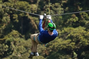 Zipline activities in Cork