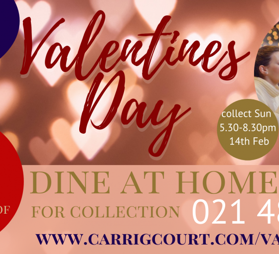 Valentines Dining at Home